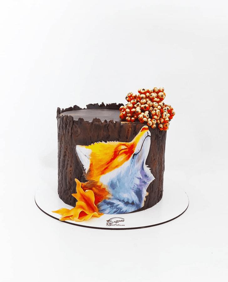 Fair Fox Cake
