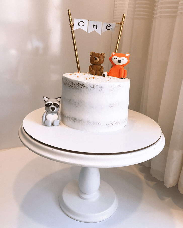 Fine Fox Cake