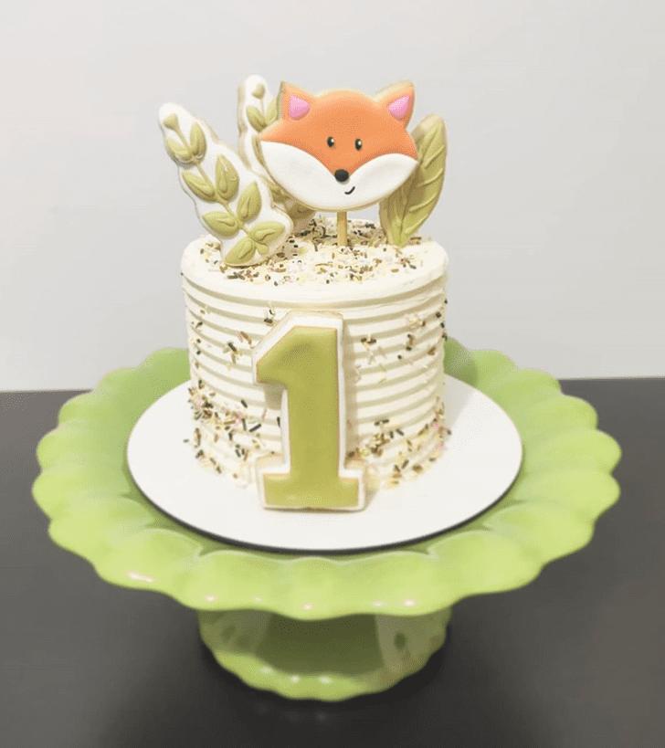 Graceful Fox Cake
