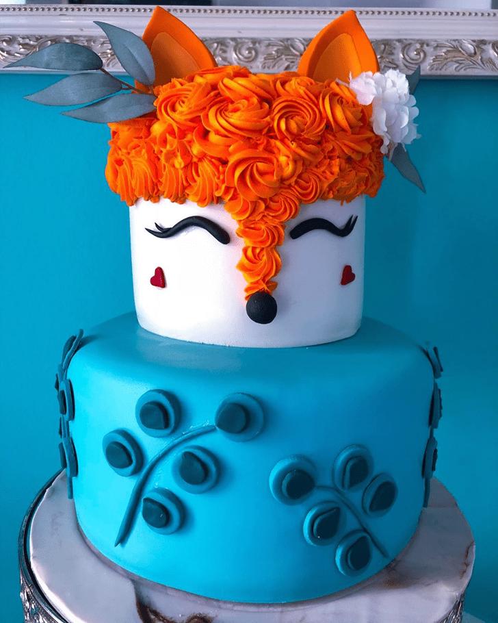 Ideal Fox Cake