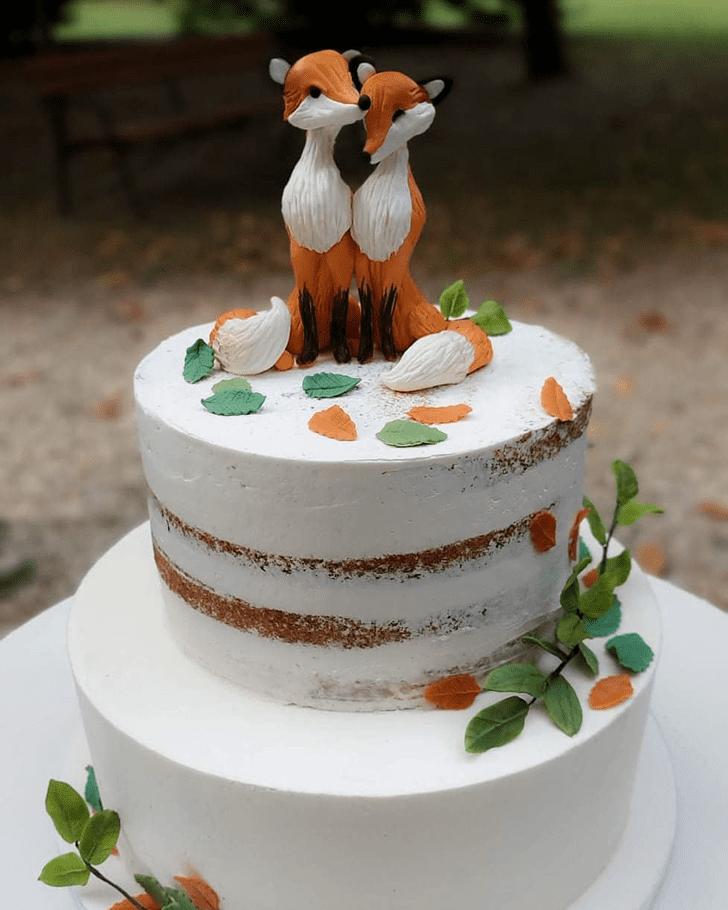Magnetic Fox Cake