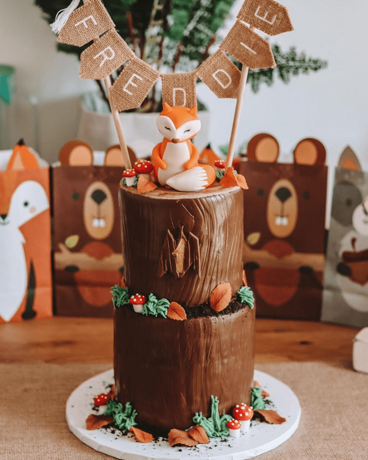 Magnificent Fox Cake