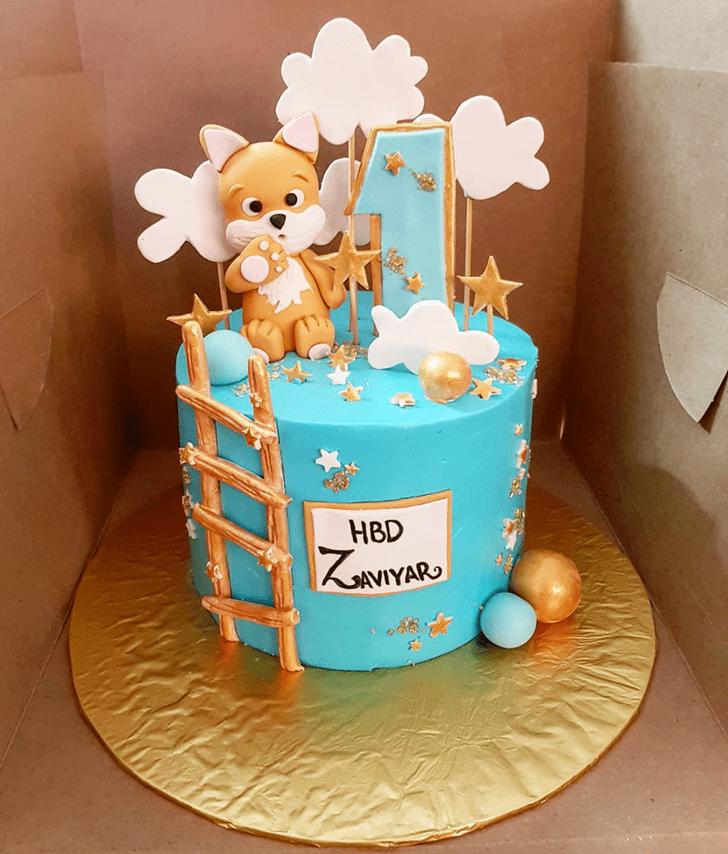 Pretty Fox Cake