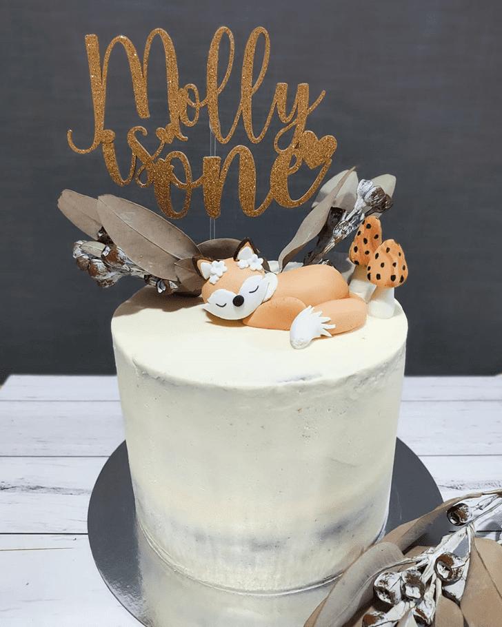 Radiant Fox Cake