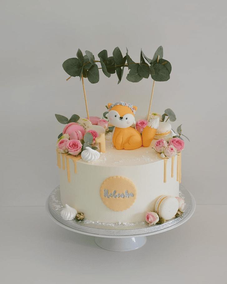 Wonderful Fox Cake Design