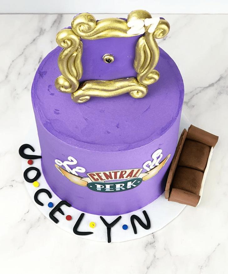 Alluring Friends Cake