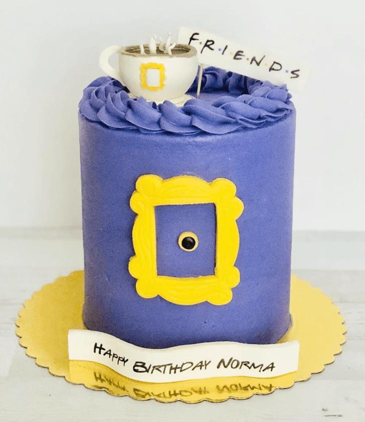 Angelic Friends Cake