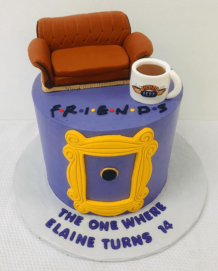 Charming Friends Cake