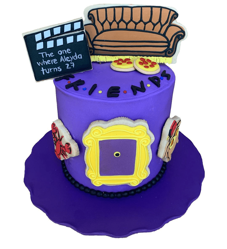 Comely Friends Cake