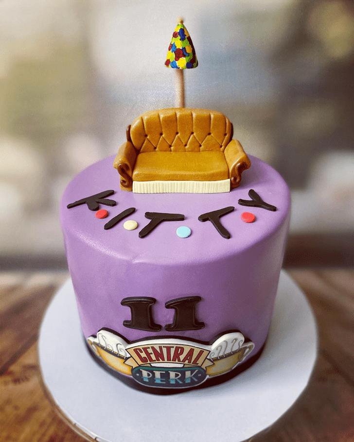 Cute Friends Cake