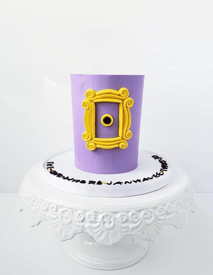 Delightful Friends Cake