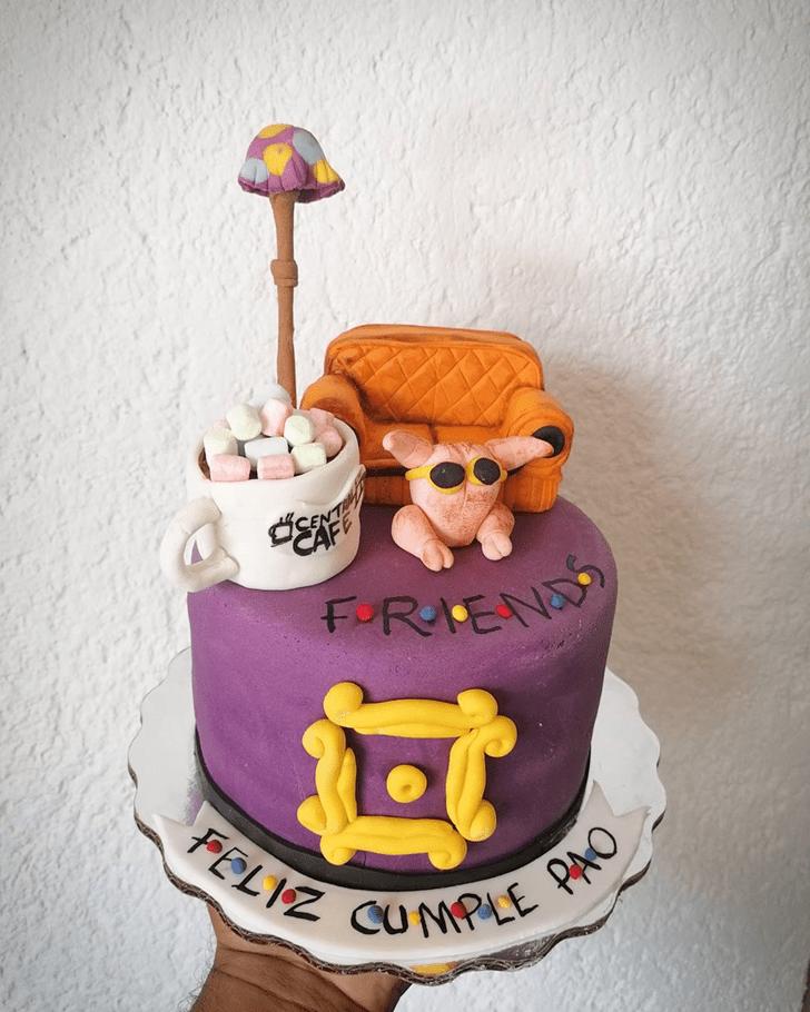 Divine Friends Cake