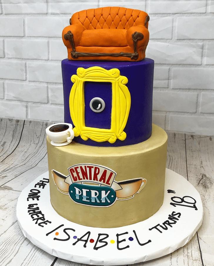 Excellent Friends Cake