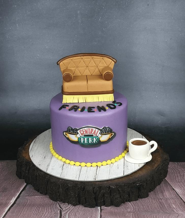 Exquisite Friends Cake