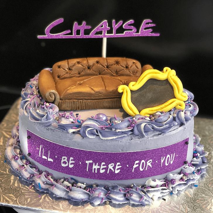 Fascinating Friends Cake
