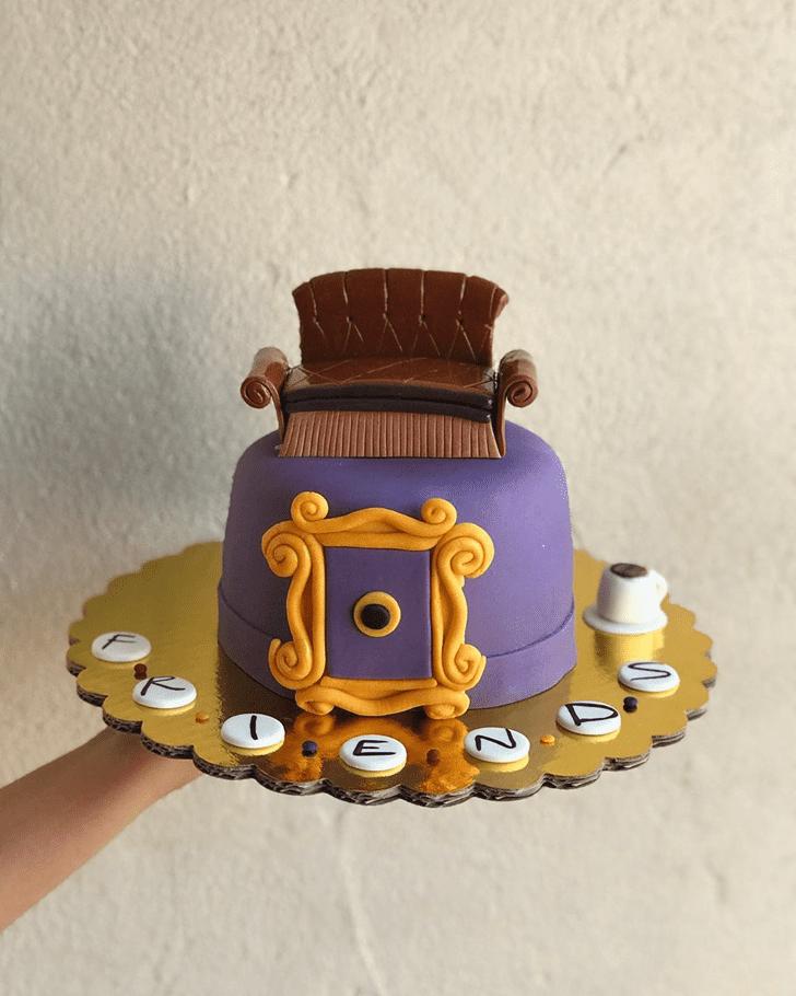 Wonderful Friends Cake Design