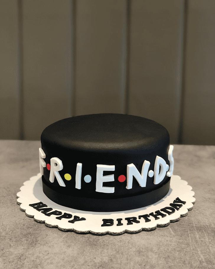 Handsome Friends Cake