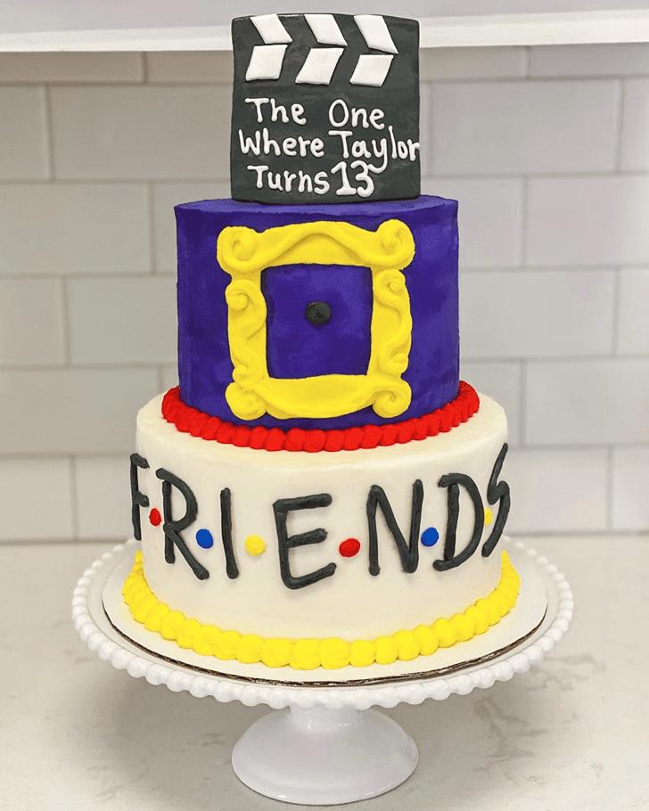 Marvelous Friends Cake