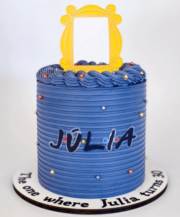 Mesmeric Friends Cake