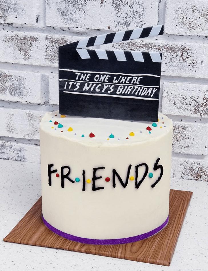 Refined Friends Cake