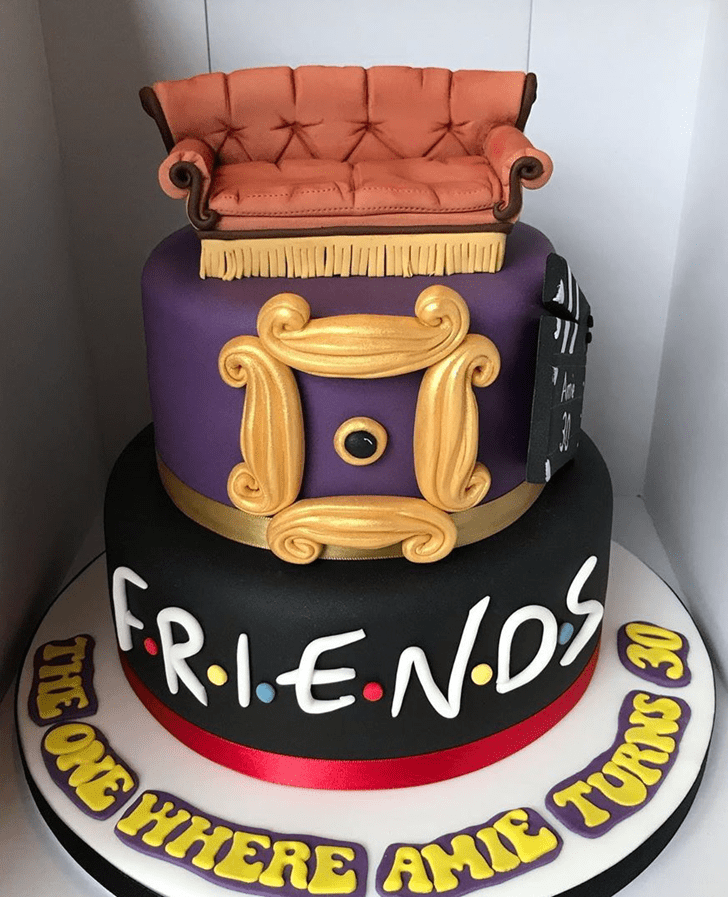 Shapely Friends Cake