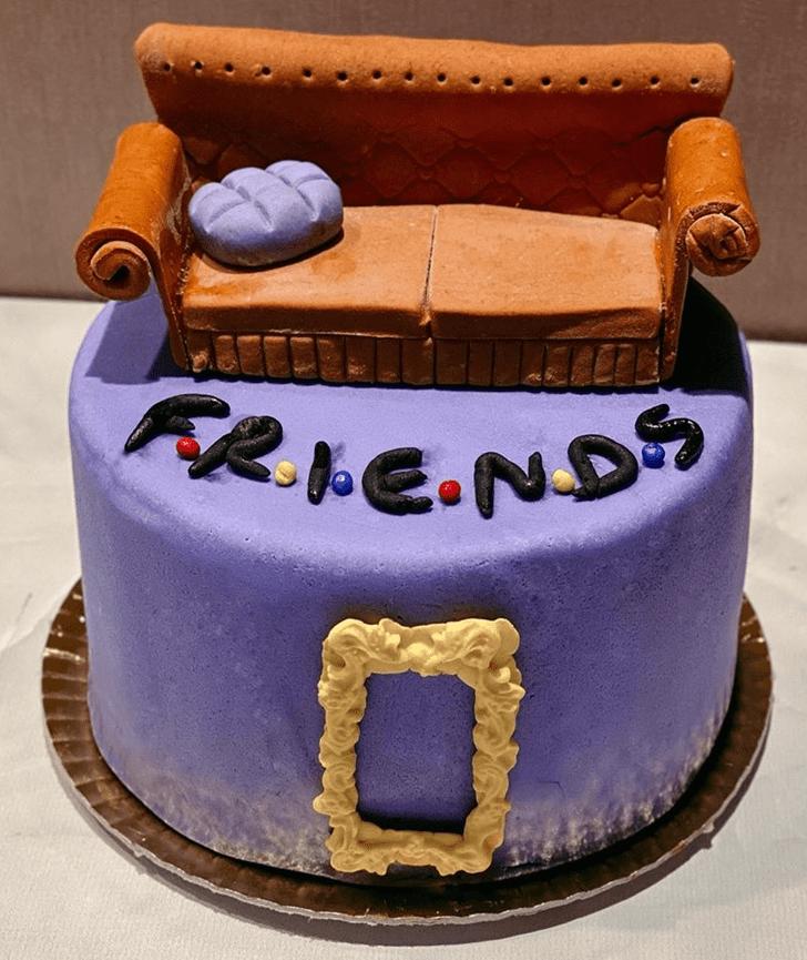 Slightly Friends Cake