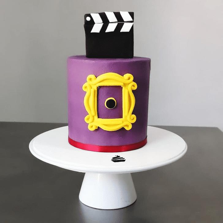 Stunning Friends Cake