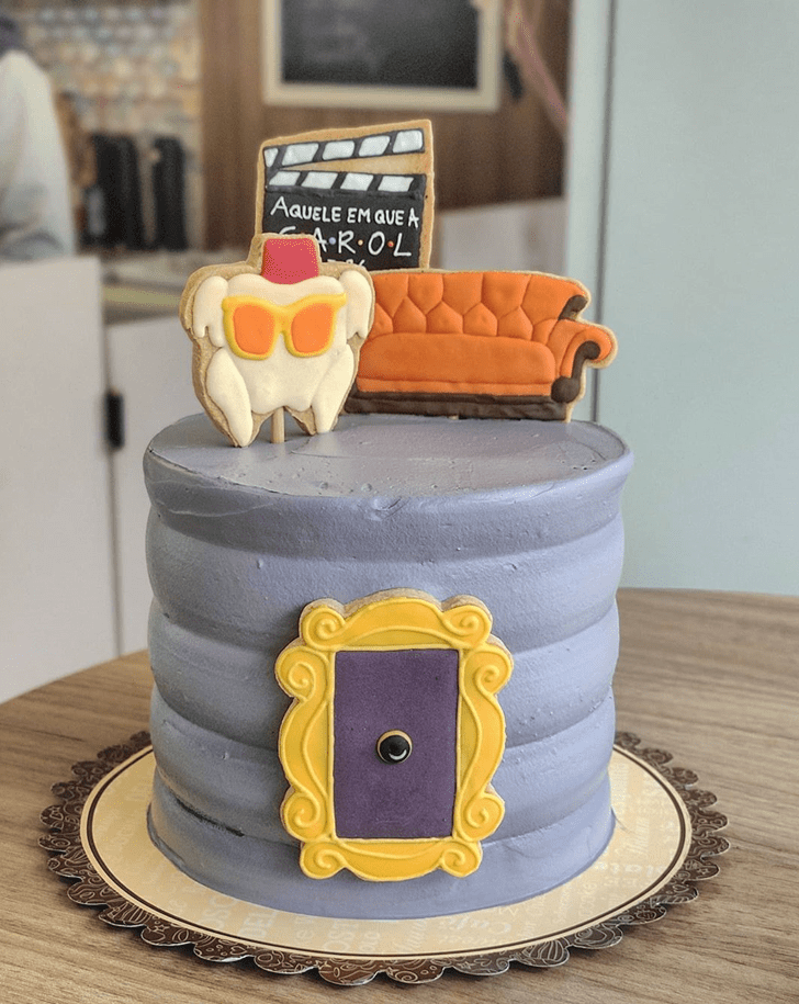 Superb Friends Cake