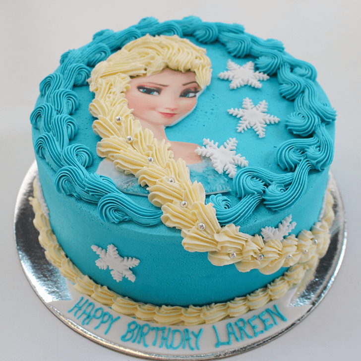 Angelic Disneys Frozen Cake