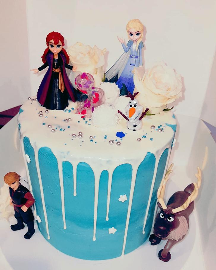 Classy Disneys Frozen Cake