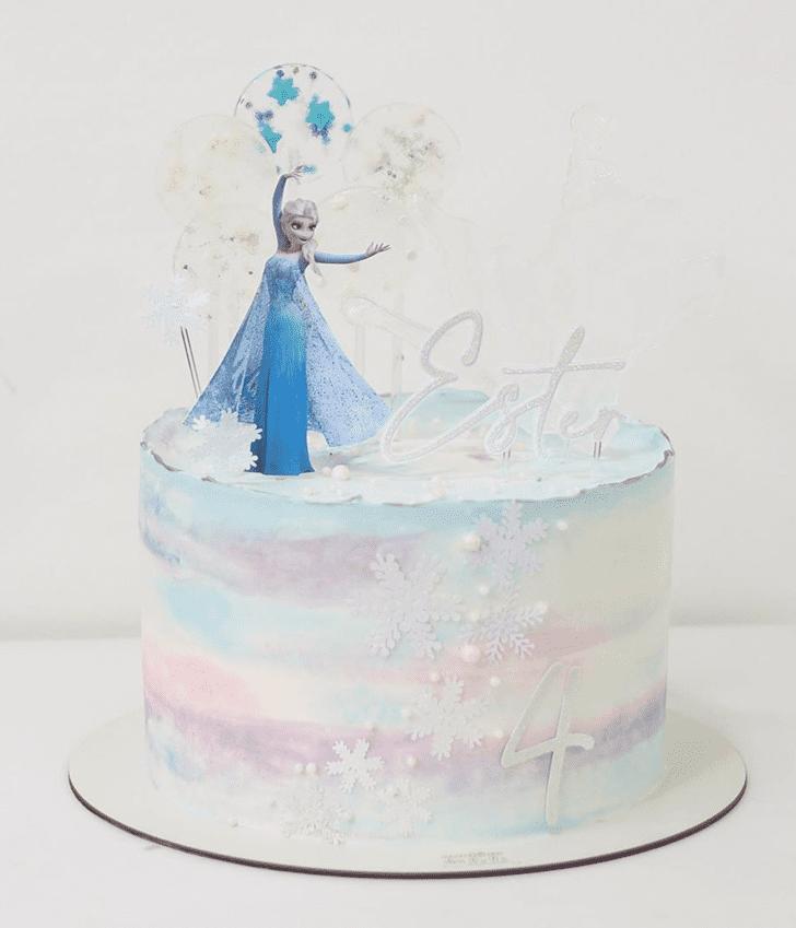 Enticing Disneys Frozen Cake