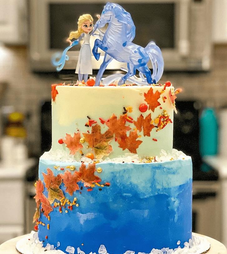 Fair Disneys Frozen Cake