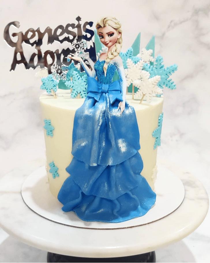Fetching Disneys Frozen Cake