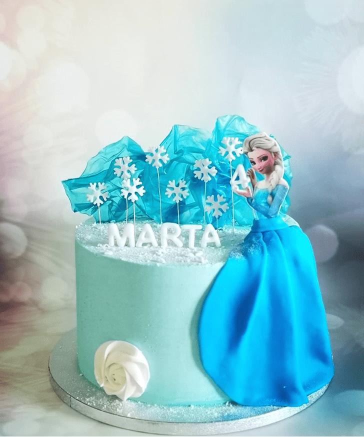 Grand Disneys Frozen Cake