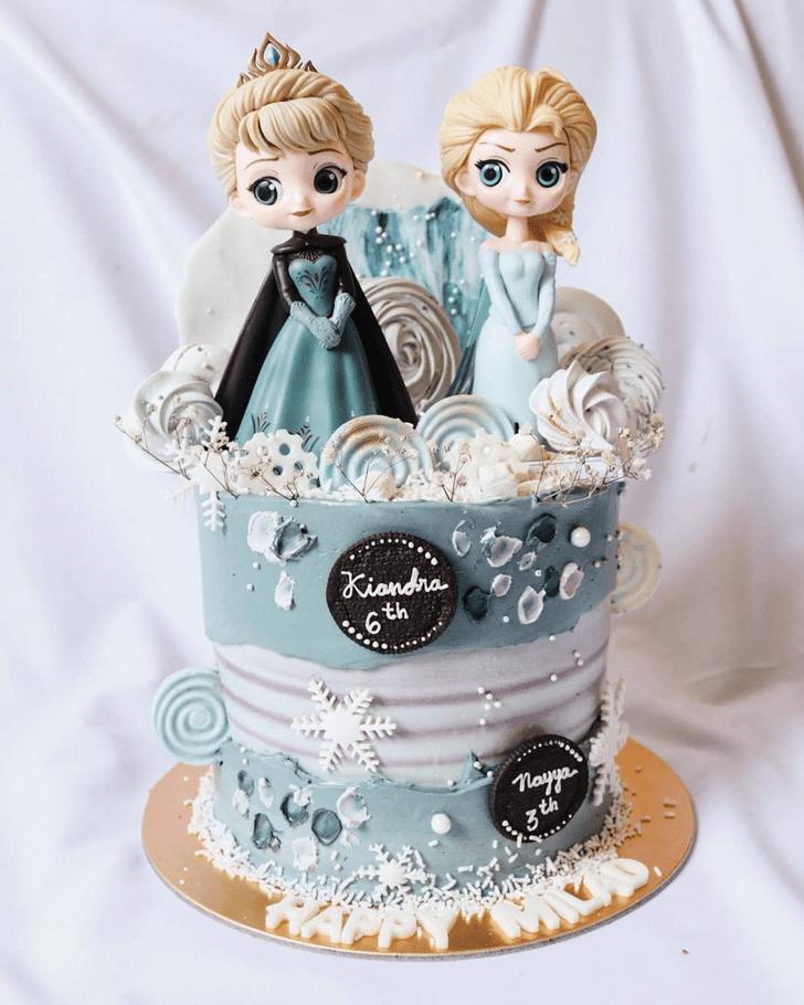 Marvelous Disneys Frozen Cake