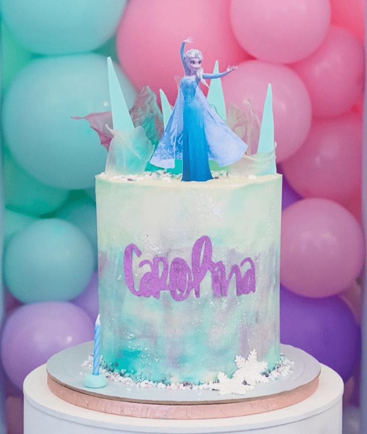 Nice Disneys Frozen Cake