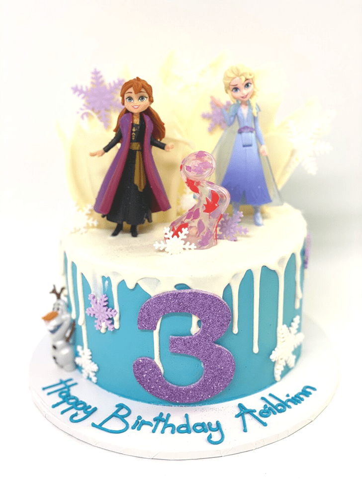 Radiant Disneys Frozen Cake