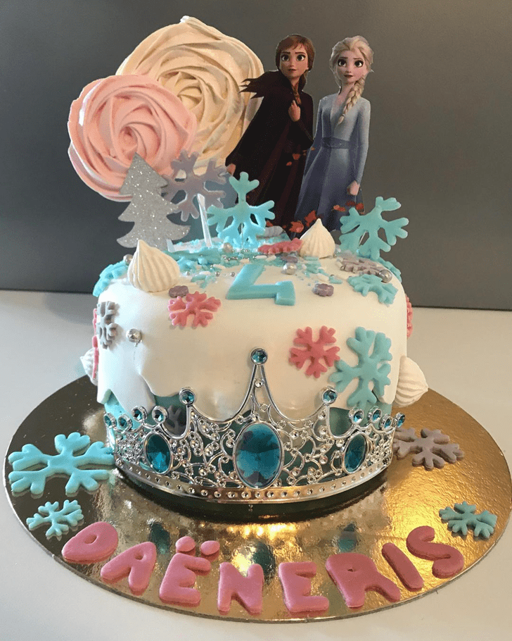 Superb Disneys Frozen Cake