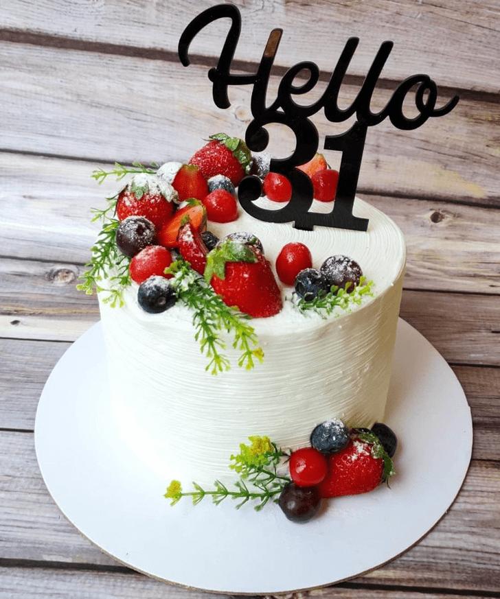 Angelic Fruits Cake