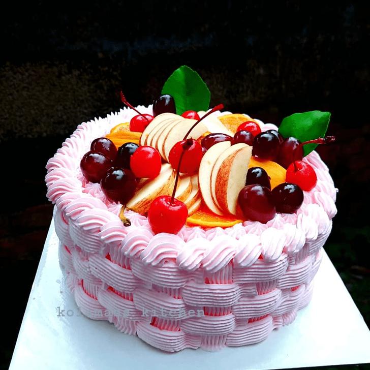 Appealing Fruits Cake