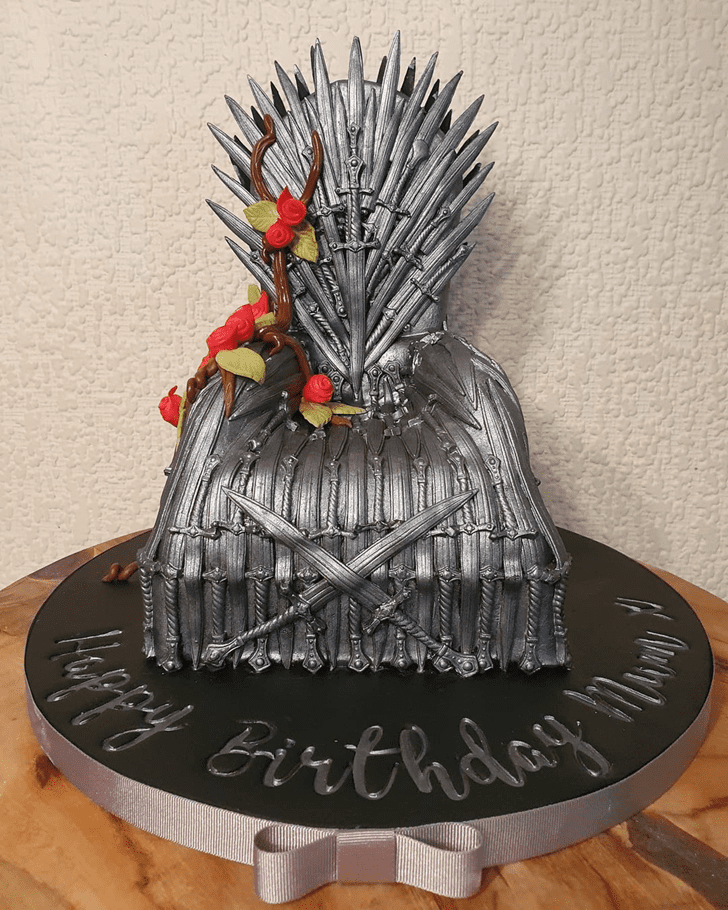 Alluring Game of Thrones Cake