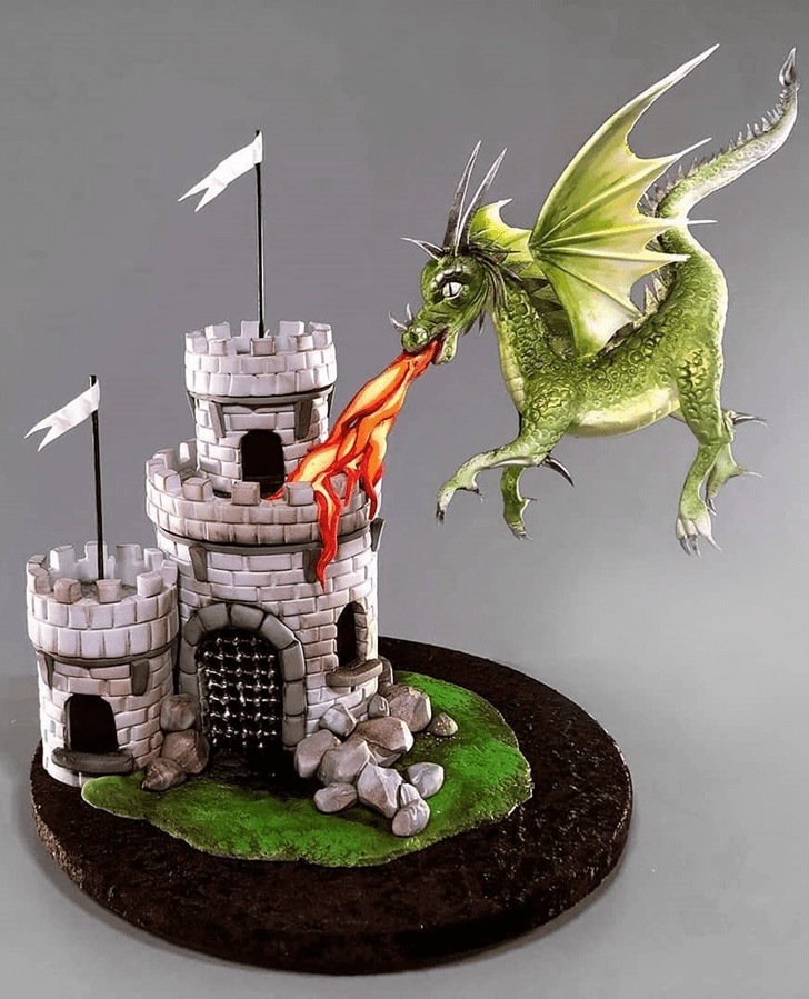 Angelic Game of Thrones Cake