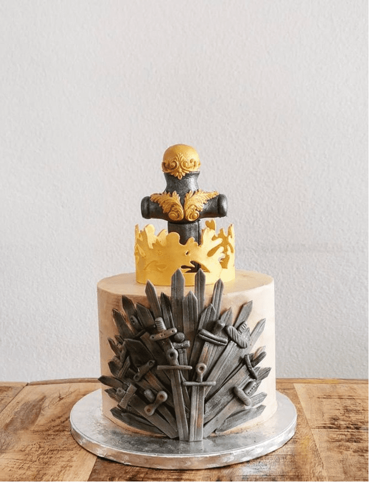 Appealing Game of Thrones Cake