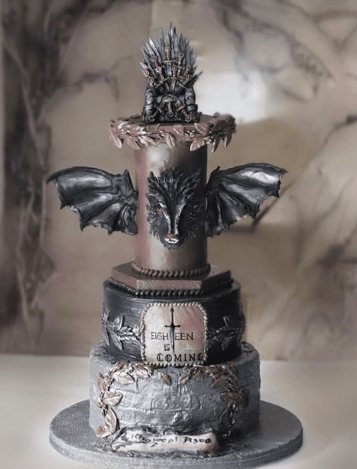Bewitching Game of Thrones Cake