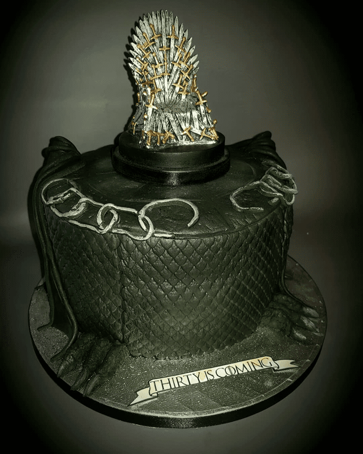 Captivating Game of Thrones Cake