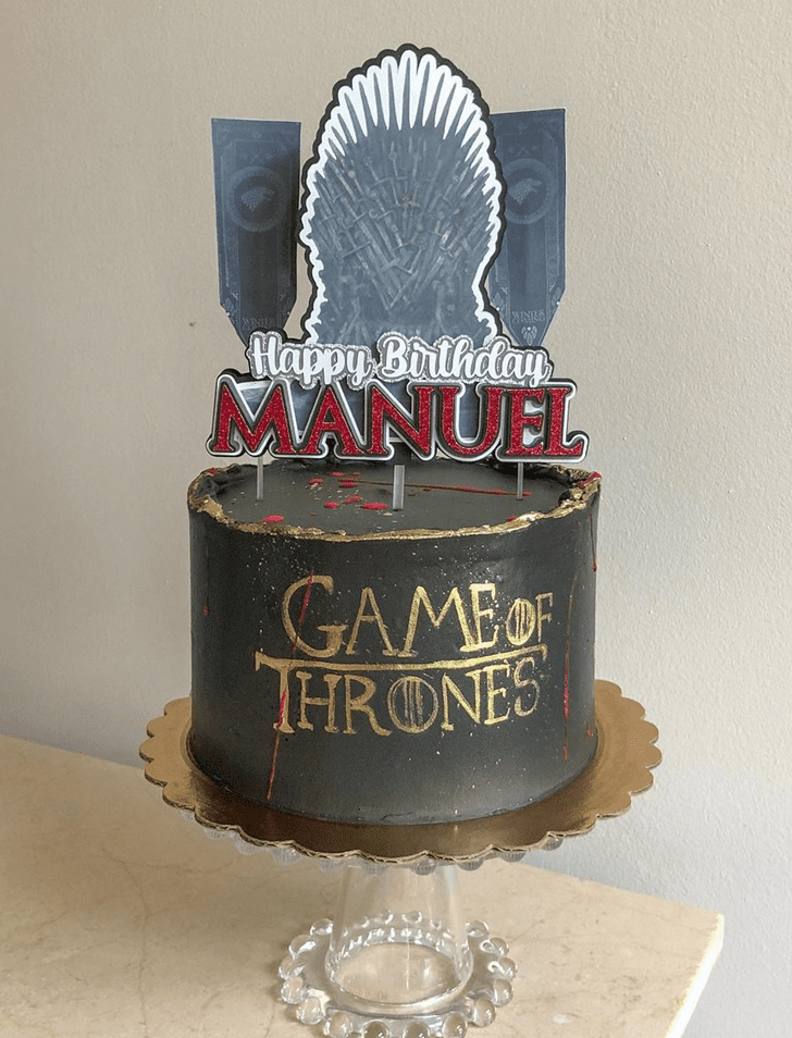 Charming Game of Thrones Cake