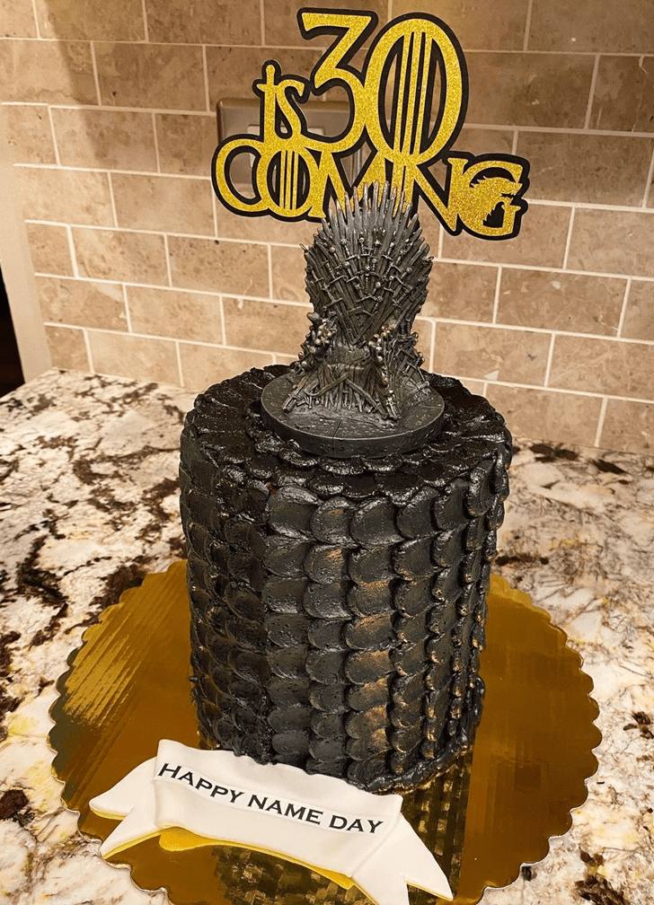 Divine Game of Thrones Cake