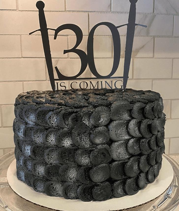 Elegant Game of Thrones Cake