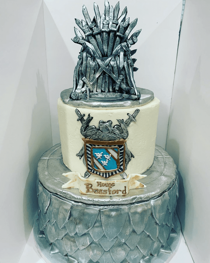 Enticing Game of Thrones Cake