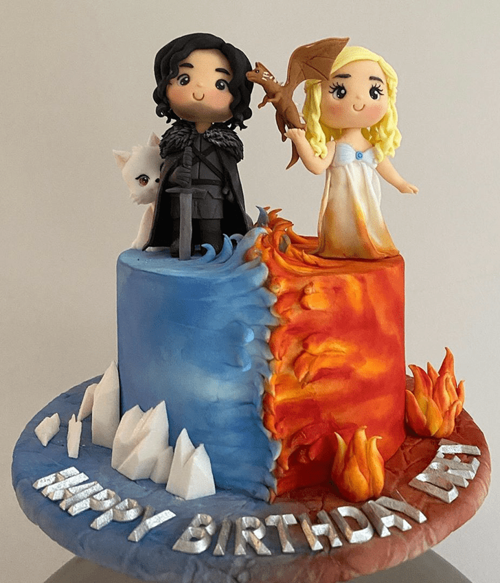 Excellent Game of Thrones Cake
